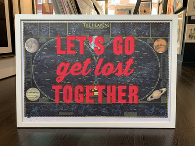 Dave Buonaguidi - 'Let's Go get Lost Together - Heavens