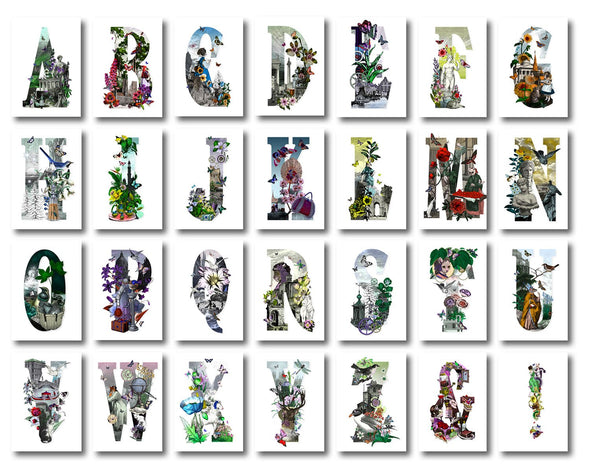 Kristjana S Williams - 'Letter Spectrum Bokstafir' (Full Set of 28)