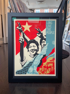 OBEY Shepard Fairey - 'Long Live The People'