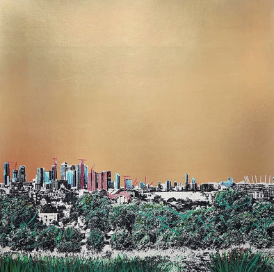Jayson Lilley - 'Looking At Canary Wharf II'