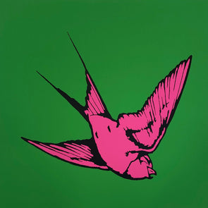 Dan Baldwin - 'Love & Light - Green and Pink'
