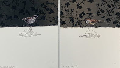 Charming Baker - 'Love Birds I and II' (Set of Two Prints)