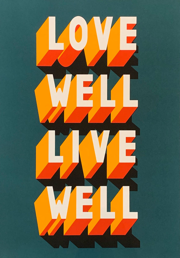 Survival Techniques - 'Love Well Live Well'