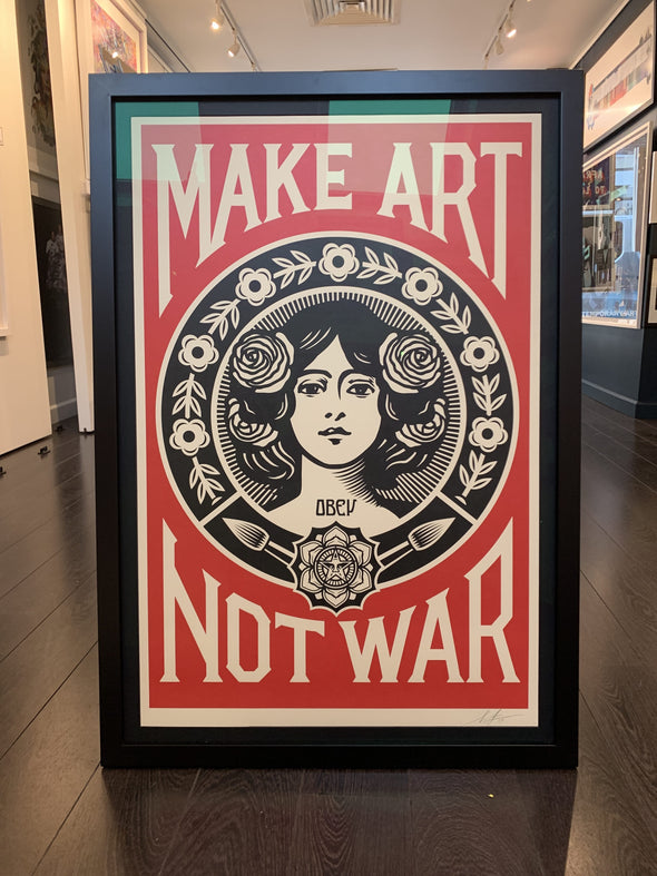 OBEY Shepard Fairey - 'Make Art Not War' (Pre-order)