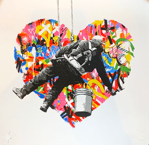 Martin Whatson - 'Make Love' Mini Print