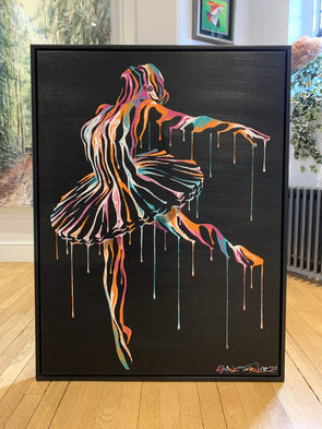Shane Turner - 'Music In Motion 4.0' Large Original Canvas