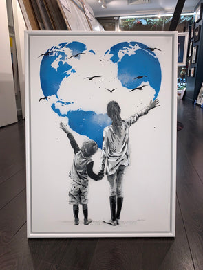 Alessio B - 'My World' Original Canvas