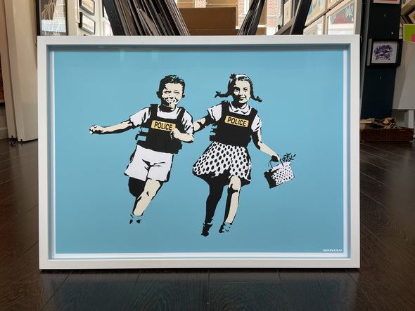 West Country Prince - 'Police Kids' Banksy Replica