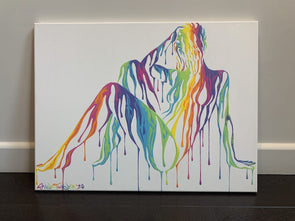 Shane Turner - 'Psychameleon XV' (White) Original Canvas