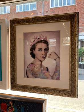 JJ Adams - 'Queen Tattoo Lenticular' Artist's Proof