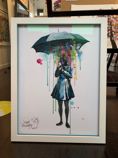 Lora Zombie - 'Rainy' Hand-Signed Version