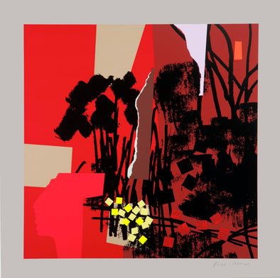 Bruce McLean - 'Red Hot Autumn'