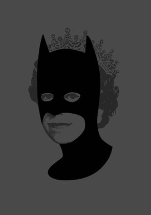 Heath Kane - 'Rich Enough To Be Batman - All Black Flock'
