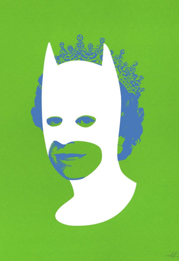 Heath Kane - 'Rich Enough To Be Batman - White and Green'