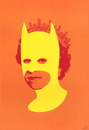 Heath Kane - 'Rich Enough To Be Batman - Yellow and Orange'
