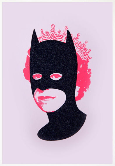 Heath Kane - 'Rich Enough To Be Batman - Black Diamond Dust and Pink'