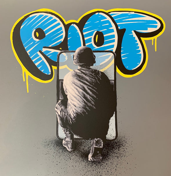 Martin Whatson - 'Riot' Artist's Proof