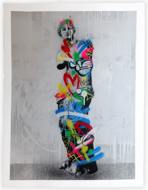 2342: Martin Whatson - 'Venus De Milo' (Framed) SOLD