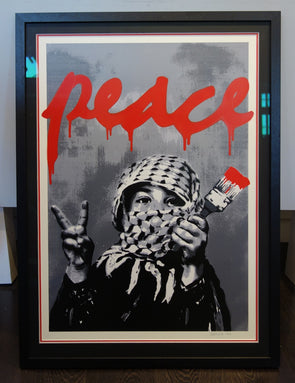 Alessio B - 'Peace' Main Edition (Framed)