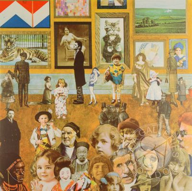 1194: Sir Peter Blake - 'Academy' (Framed)