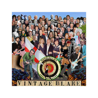 1196: Sir Peter Blake - 'Vintage Blake' (Framed)