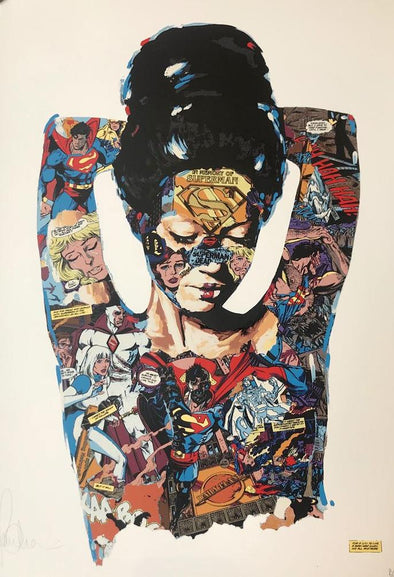 Sandra Chevrier - 'La Cage Qui A Donne Sa Vie L'Humanite' RARE PRINTER'S PROOF