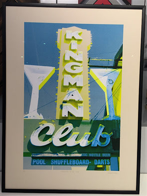 3050: Russell Marshall - 'Kingman Club - CYK' (framed)