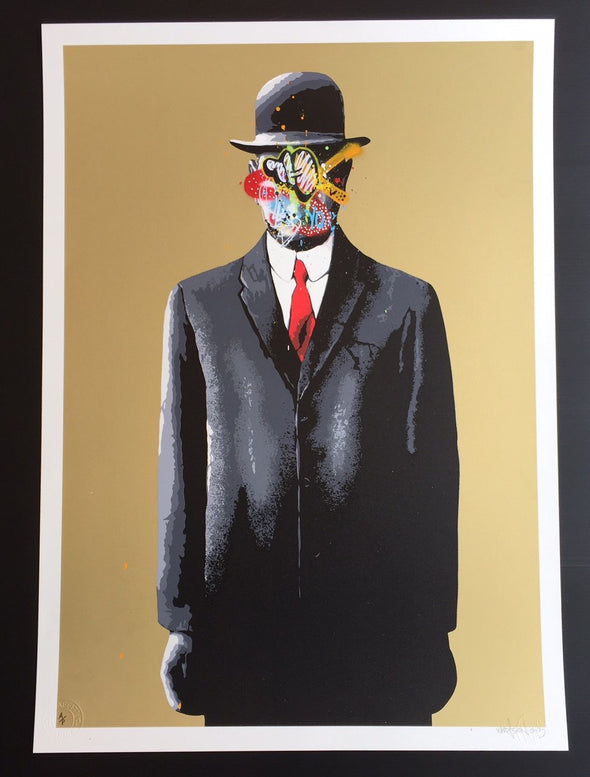 3089: Martin Whatson - 'Son of Man' (Gold version) Rare Artist Proof (Framed) SOLD