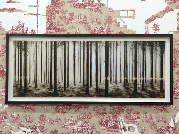 3053: Pejac - 'Linea' (Unframed) Edition 200 out of 200 SOLD