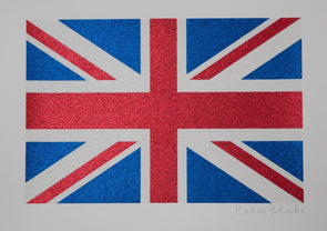 3085: Sir Peter Blake - 'Union Flag' (Glitter) SOLD