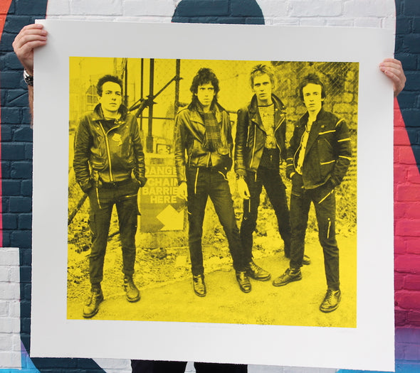 3258: Russell Marshall - 'The Clash' Unique screen print