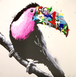3360: Martin Whatson - 'Toucan' (Purple Hand Finished Edition) (Unframed) Super Rare!! SOLD