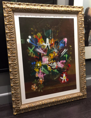 3335: Martin Whatson - 'Still Life 2' (2016 hand finished print) Framed SOLD