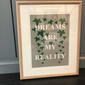 3606: Lene Bladbjerg - 'Dreams Are My Reality' (Framed)