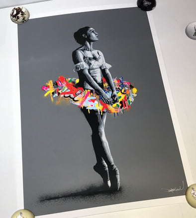 3092: Martin Whatson - 'En Pointe' (Main edition) Super rare print!