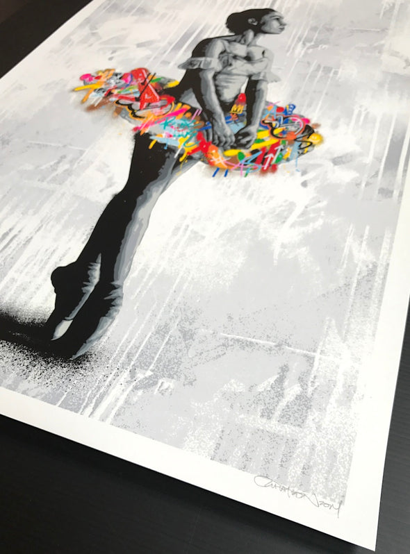 3791: Martin Whatson - 'En Pointe' Hand Finished Special Edition (Unframed) - Super Rare Printers Proof! SOLD
