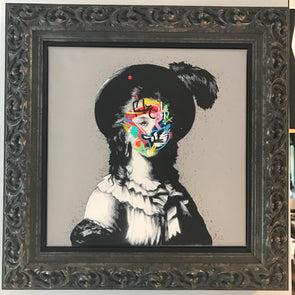 3756: Martin Whatson - 'Feather' (Original Canvas) Framed RESERVED