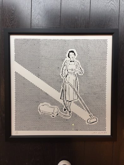 3799: Joe Webb - Lichtenstein's Cleaner (framed)