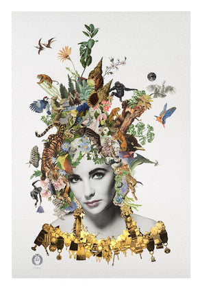 Maria Rivans ' Violet' - Eye Like Gallery EXCLUSIVE Print! As Featured in The Times! SOLD OUT!!