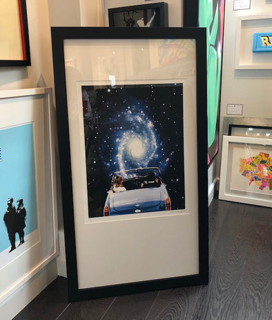 3876: Joe Webb - 'Super Highway' (Framed)