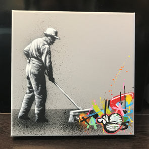 3915: Martin Whatson - 'Sweeper' Original Canvas SOLD