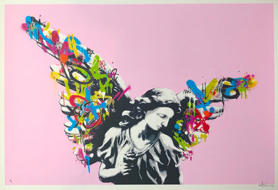 3916: Martin Whatson - 'Angel' (Pink)  Rare edition of 10 SOLD