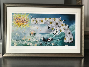 1317 - Stephanie Henderson - 'The Big Bang' (Framed)