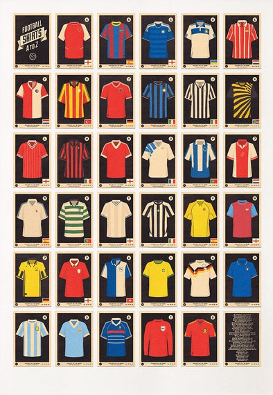 67 Inc - 'Football Shirts A to Z'