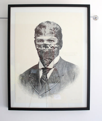 1242: Dan Hillier - 'Suit' (Framed) SOLD