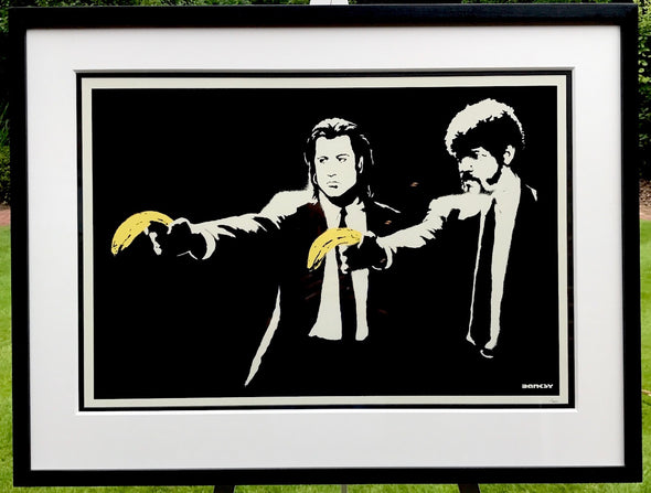 Banksy - 'Pulp Fiction' (Unsigned) SOLD
