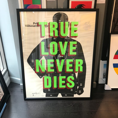Dave Buonaguidi - 'True Love Never Dies' (Framed)