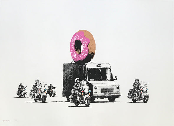 Banksy - 'Donut (Strawberry)' SOLD!