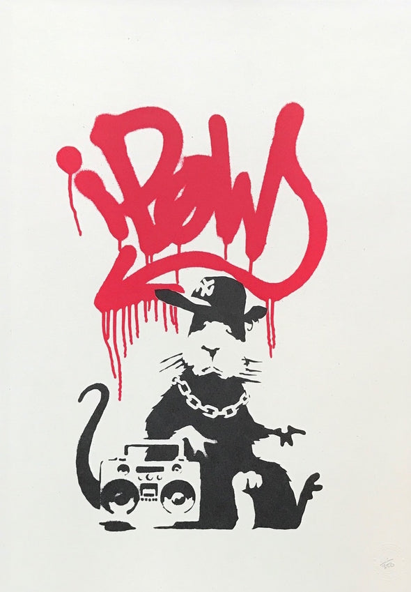 Banksy - 'Gangsta Rat' (Unsigned) SOLD