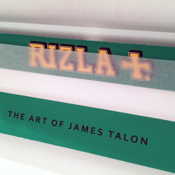 James Talon- 'Rizla - Green' (Framed) SOLD